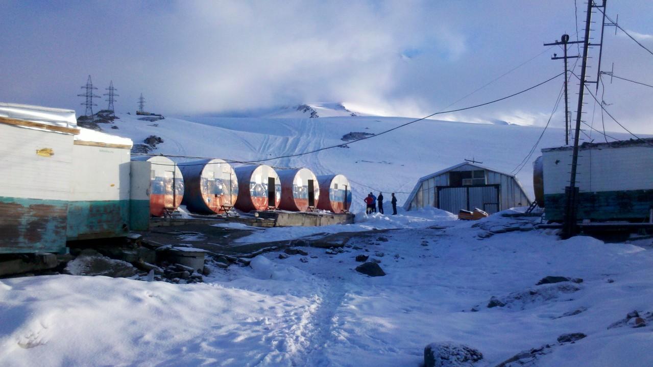 die Botschki-Fässer auf 3700m