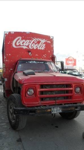 ein etwas älteres Modell des Coca Cola Weihnachtstruck´s