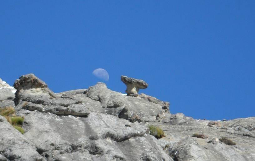 der von uns getaufte Mushroom-Rock-Pass
