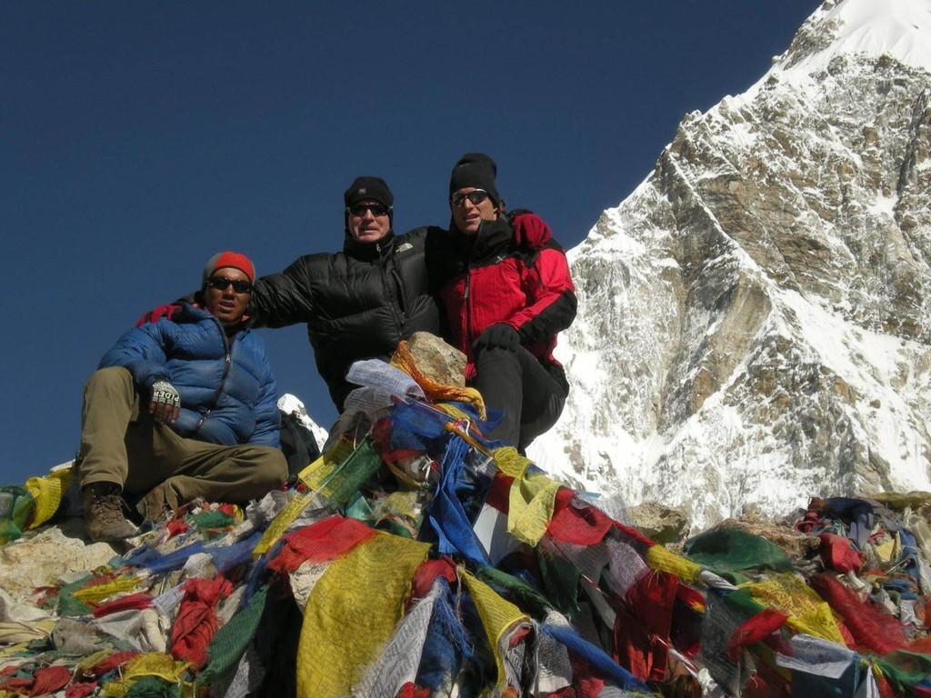 Gipfel des Kala Patar 5545m