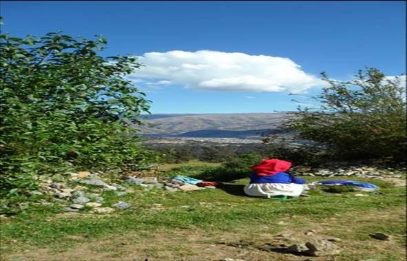 herrlicher Blick auf Huaraz