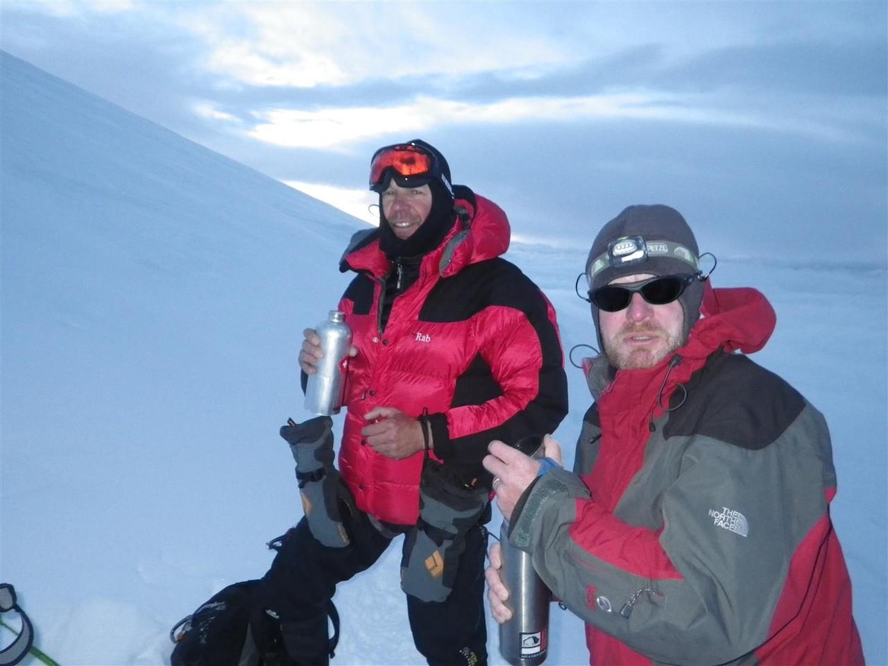 Rob aus London (ein starker Bergsteiger)