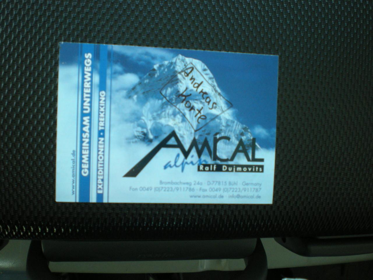 Danke AMICAL Alpin für die tolle Organisation