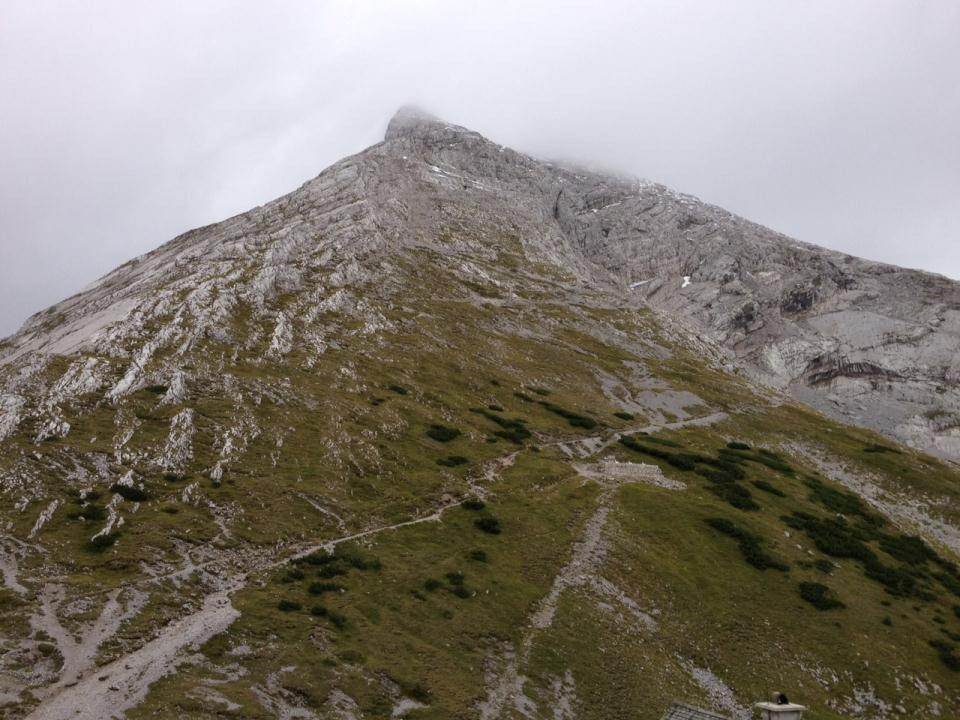 Aufstieg Richtung Watzmann