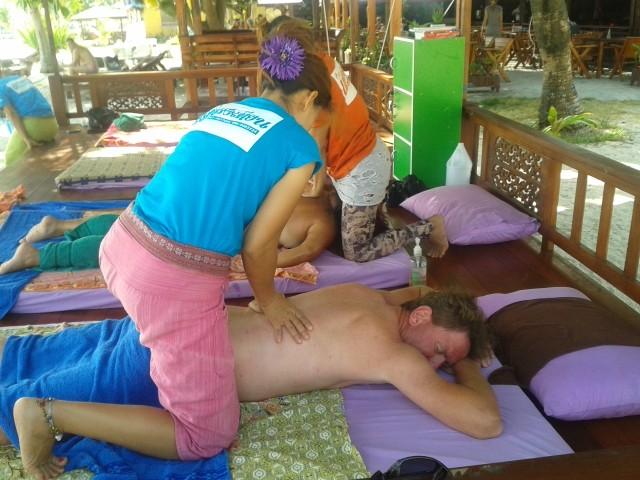 meine Letzte Thaimassage