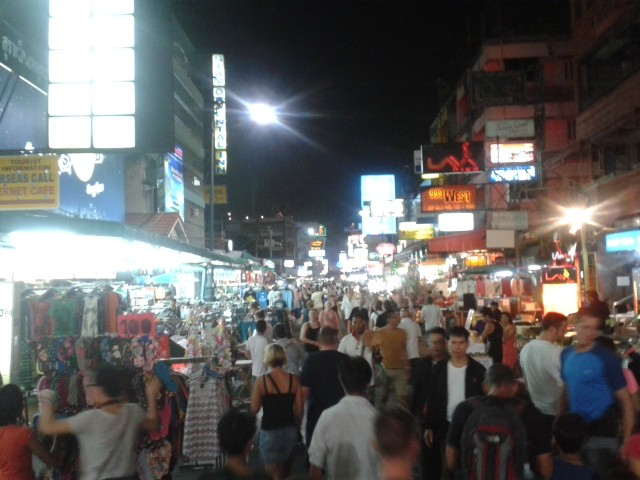 Kaohsan Road - das Backpacker Paradies