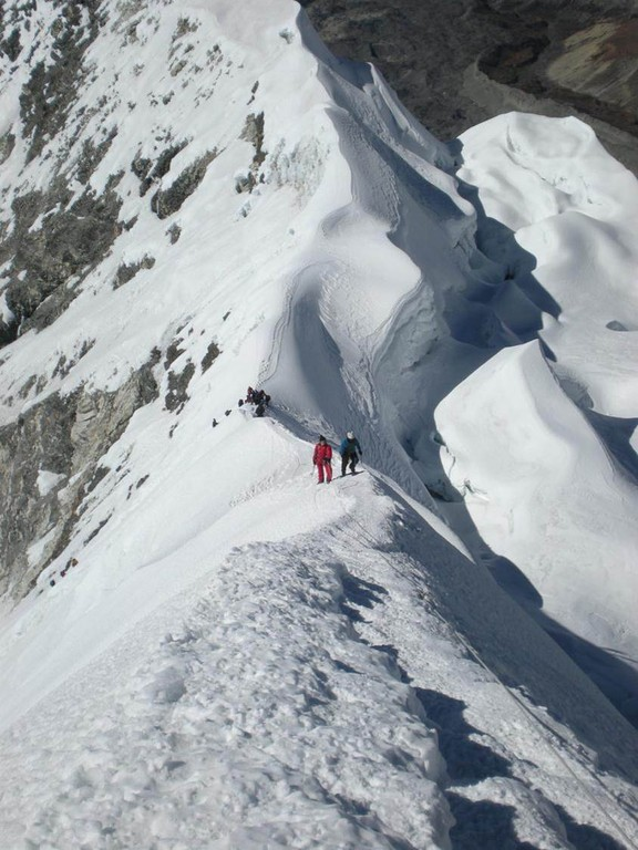 Gipfelgrat Island Peak