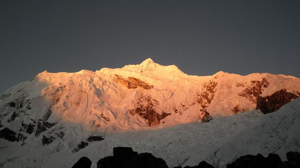 ein traumhafter Sonnenuntergang (von 28° + auf 10° - in 30min)