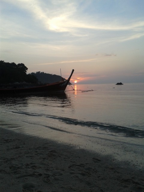 Sunset am Sunsetbeach