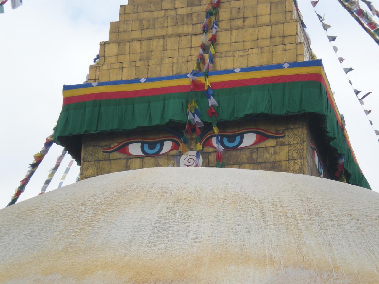 Bodanath die größte Stupa der Welt