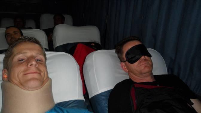im Nachtbus nach Huaraz 3100m