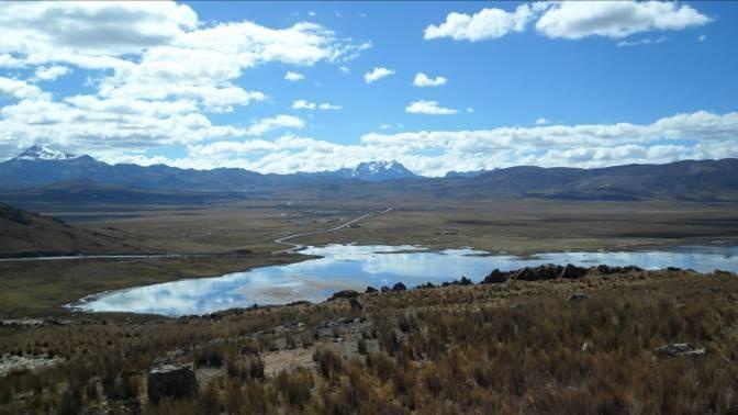 es geht über einen Pass 4150m zur Cordillera Huayhuash