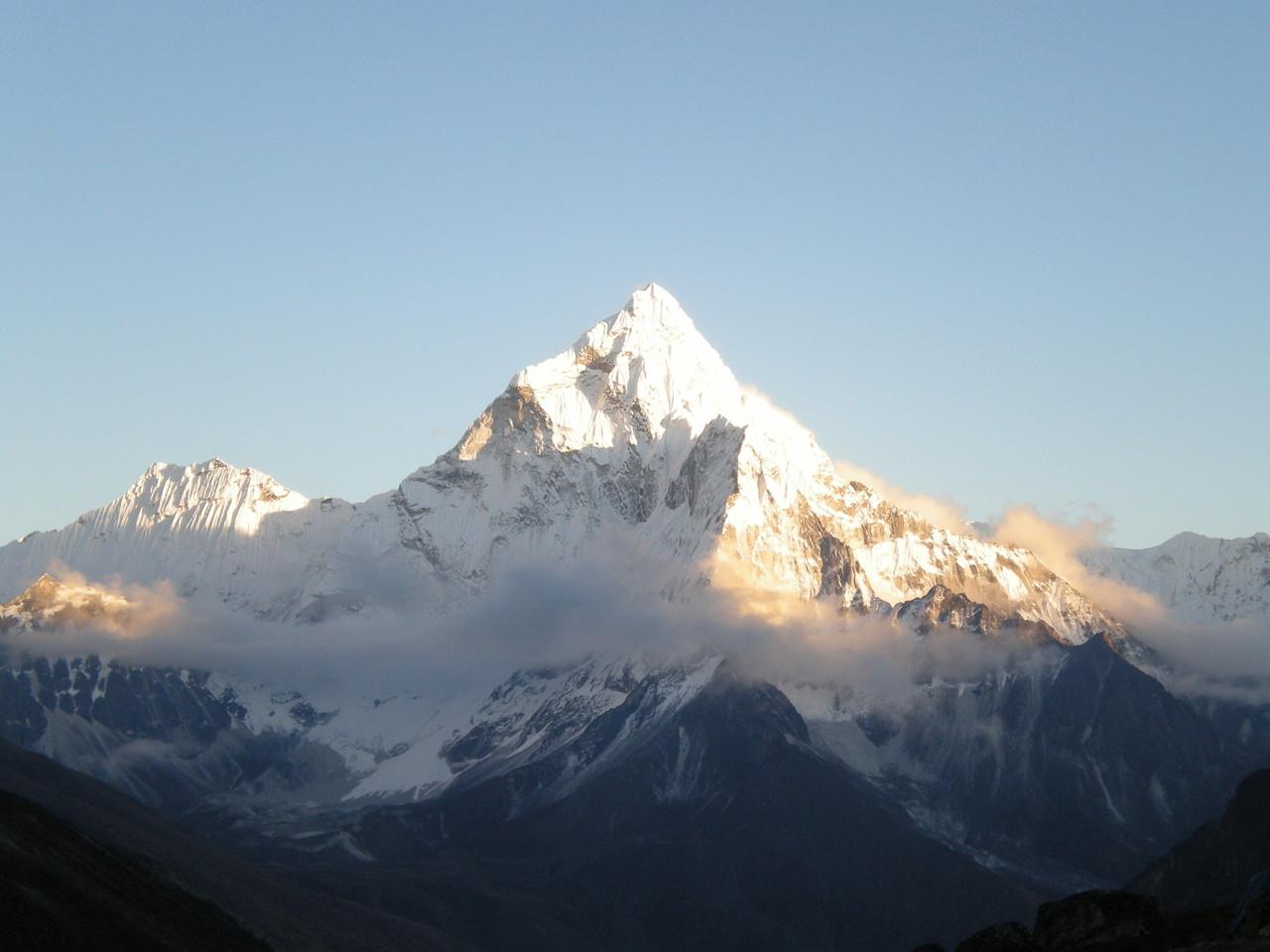Ama Dablam einer der schönsten Berge der Welt