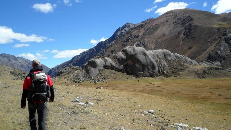 den kleinen Felsen mussten wir natürlich kurz erklimmen