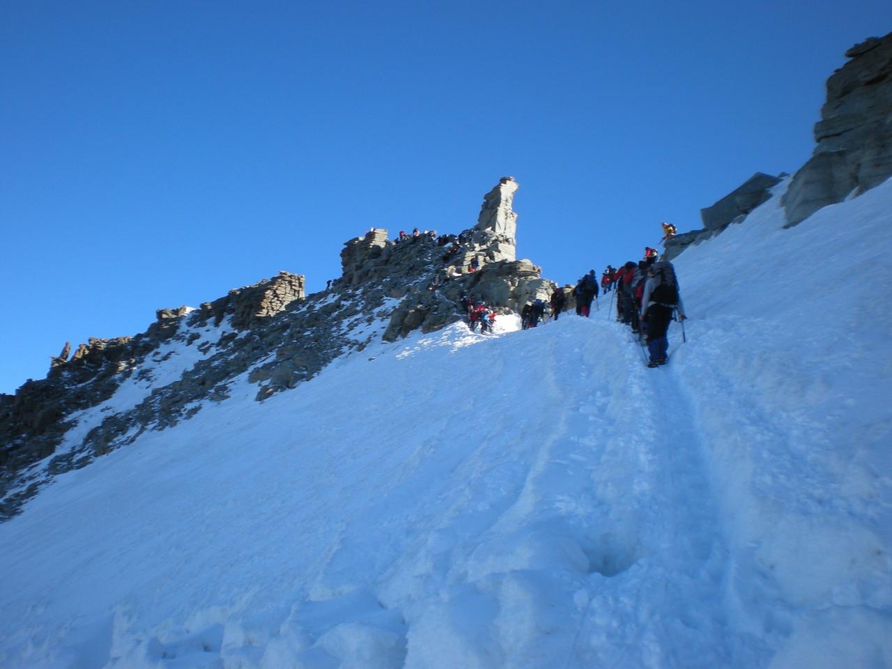 9Uhr Gipfel erreicht