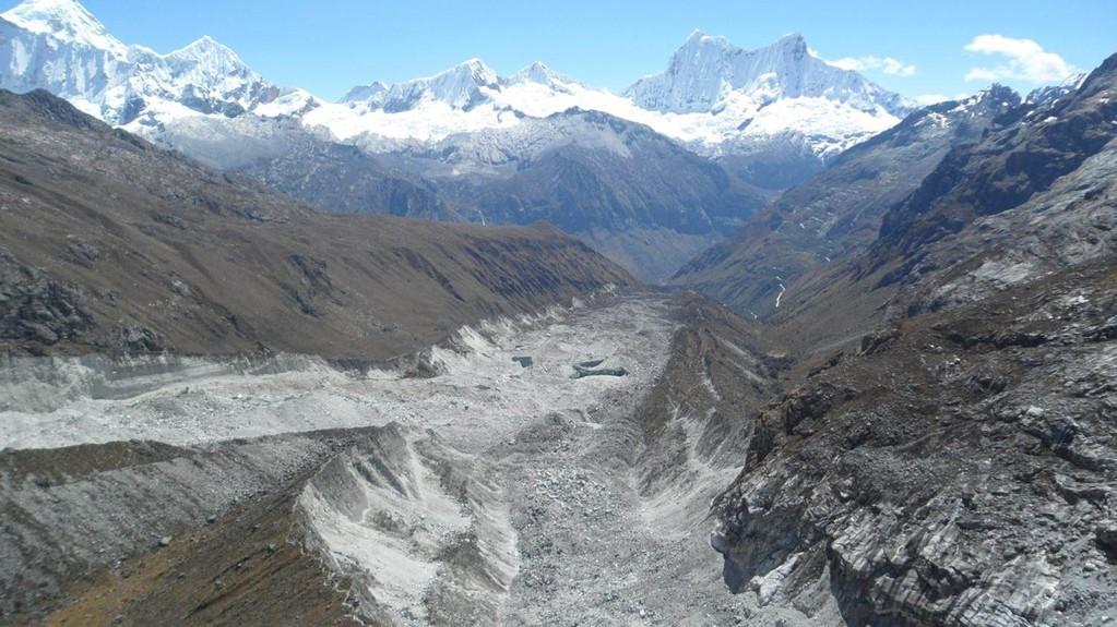 einer der gewaltigen Gletscher