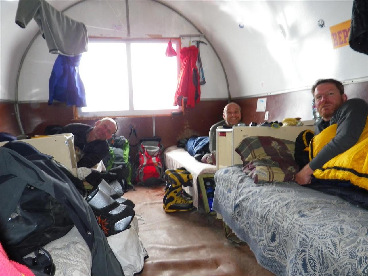 in der Botschki Hütte