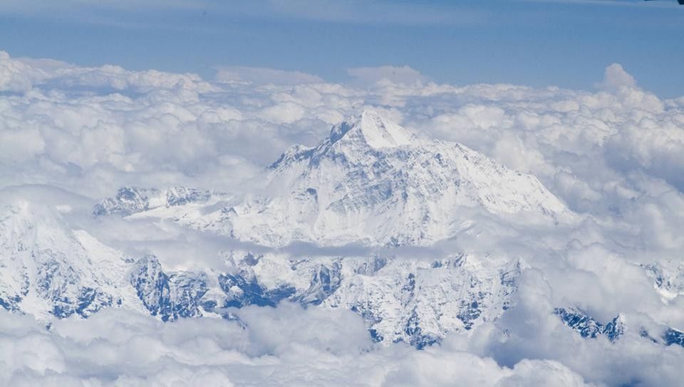 Mt.Everest im Vorbeiflug