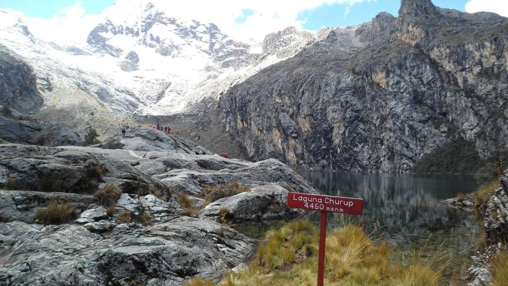 zweite Wanderung am zweiten Tag zur Aklimatisation zur Laguna Churup auf 4550m