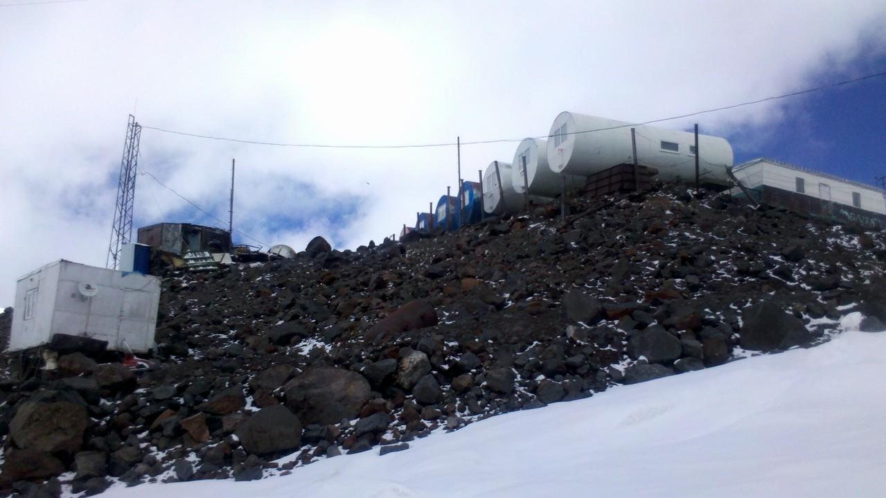 das Lager Botschki, der wohl dreckigste Ort den ich kenne, die Russen lassen alles nur liegen