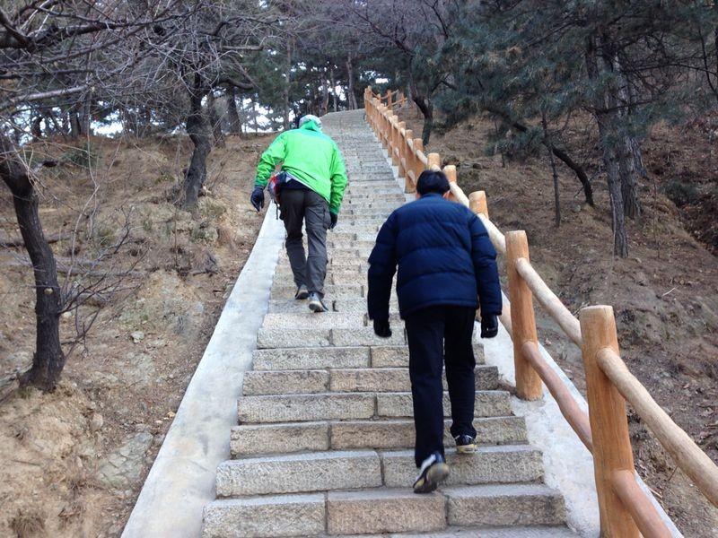 - 13° bei der Ankunft in Peking - alles klappt super wir werden abgeholt und den Tag über begleitet