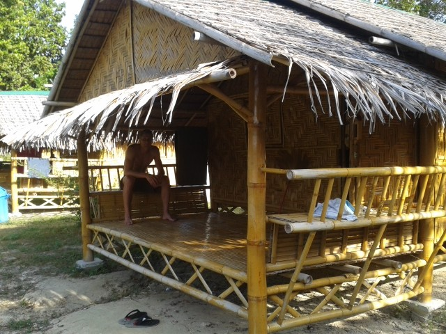 unsere erste Unterkunft auf Ko Lipe