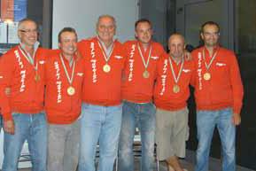 2008 Trofeo 6 nazioni Lussemburgo :La Cannisti Castel Maggiore Hydra medaglia d'oro : Giancarlo Armiraglio, Fulvio Vanoli, Alessandro Pavan, Franco Zucchi, Giacomo Chiarini, Stefano Casalini.