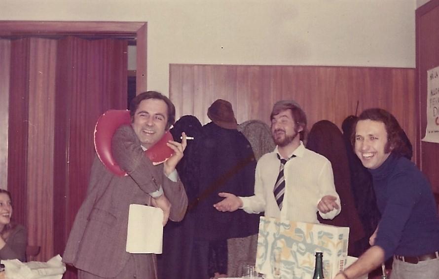 Festa sociale agonistica 1972 Con Dino Zanardi papa' del grande Alex