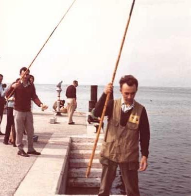 1964 nella foto :Silvio Bergami, Lino Veronesi,Fiorenzo Galletti
