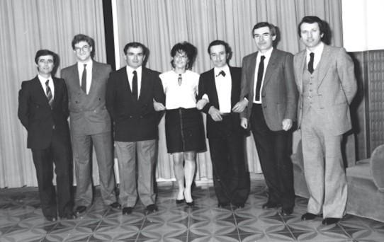 Festa sociale stagione agonistica 1982