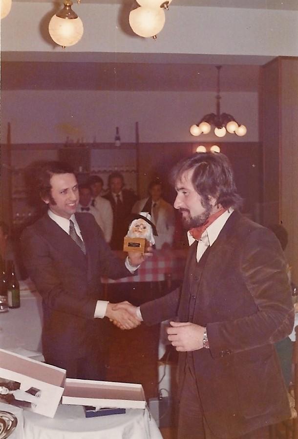 Festa sociale stagione agonistica 1973