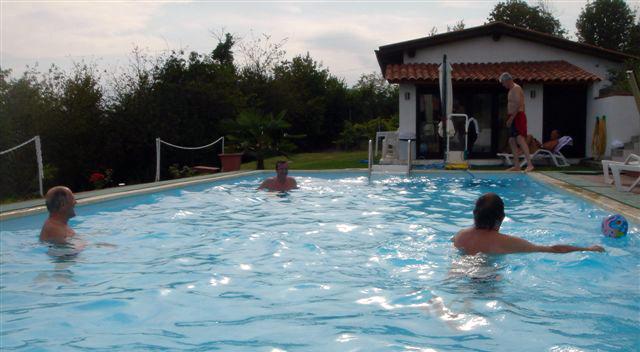 Spaß im hauseigenen Swimming Pool