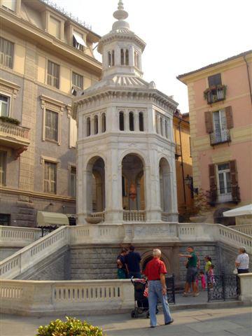 Stadtzentrum von Acqui Terme