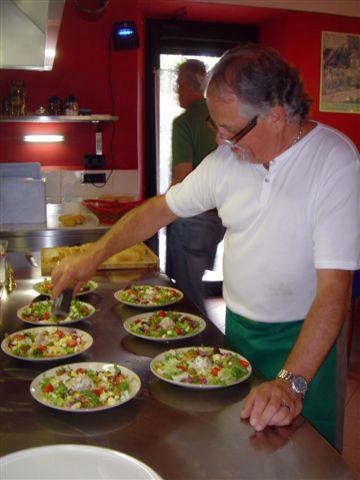 """Gemeinsames Kochen in der """"Cucina"""""""