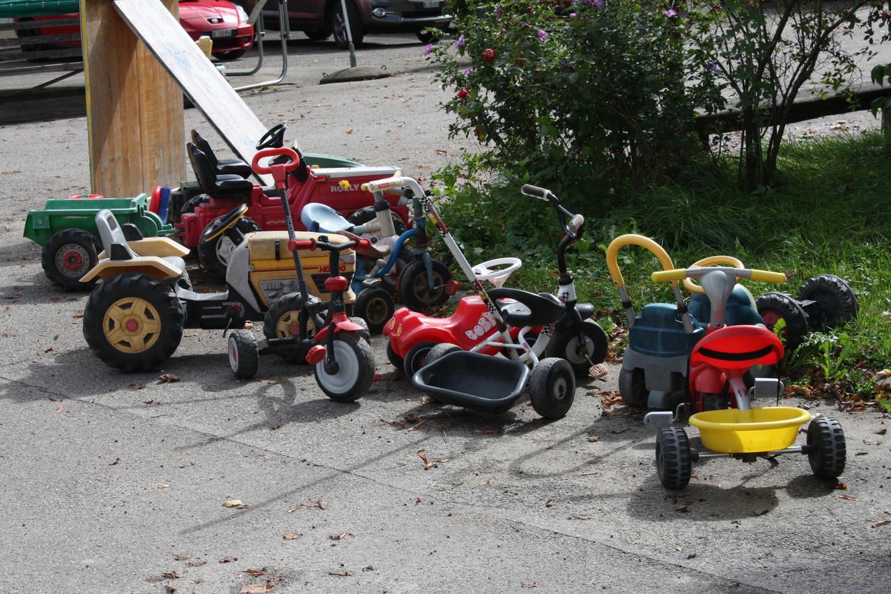 "Ausschnitt aus dem ""Fahrzeugpark"" für Kids"