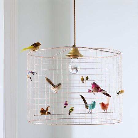 Lámpara pájaros