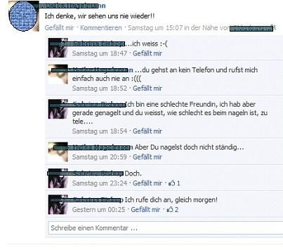 K(l)eine Geheimnisse auf Facebook