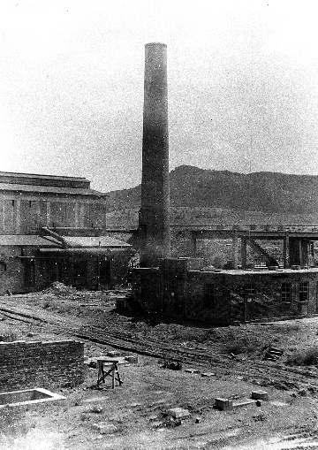 Die Baustelle bei Kriegsende