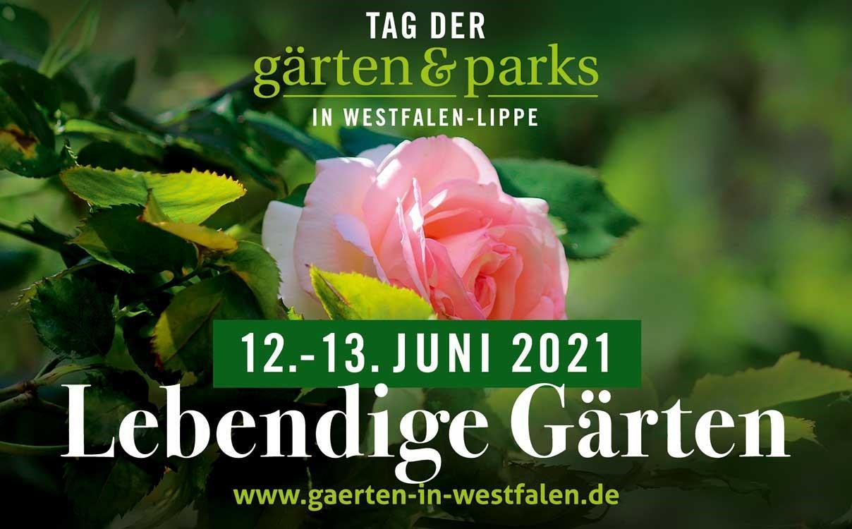"""Tag der Gärten und Parks """" Lebendige Gärten"""""""
