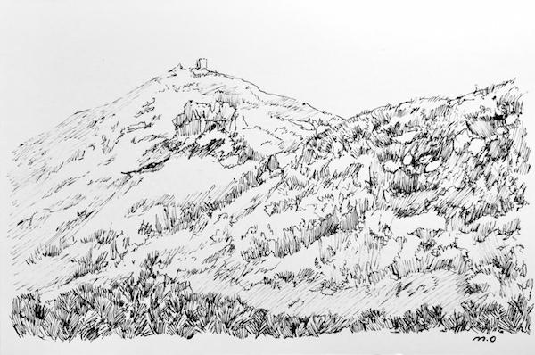 サハリン チェーホフ山