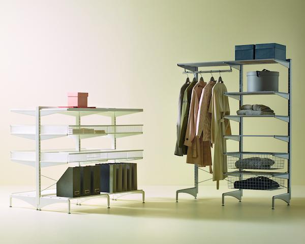 Elfa Freestanding, freistehendes Regalsystem