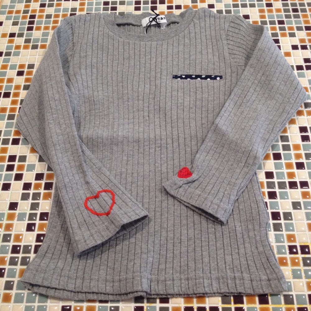 Otonato                   ママSizeリブポケットTシャツ(E406067)    (size S・M)               ¥2.500+税