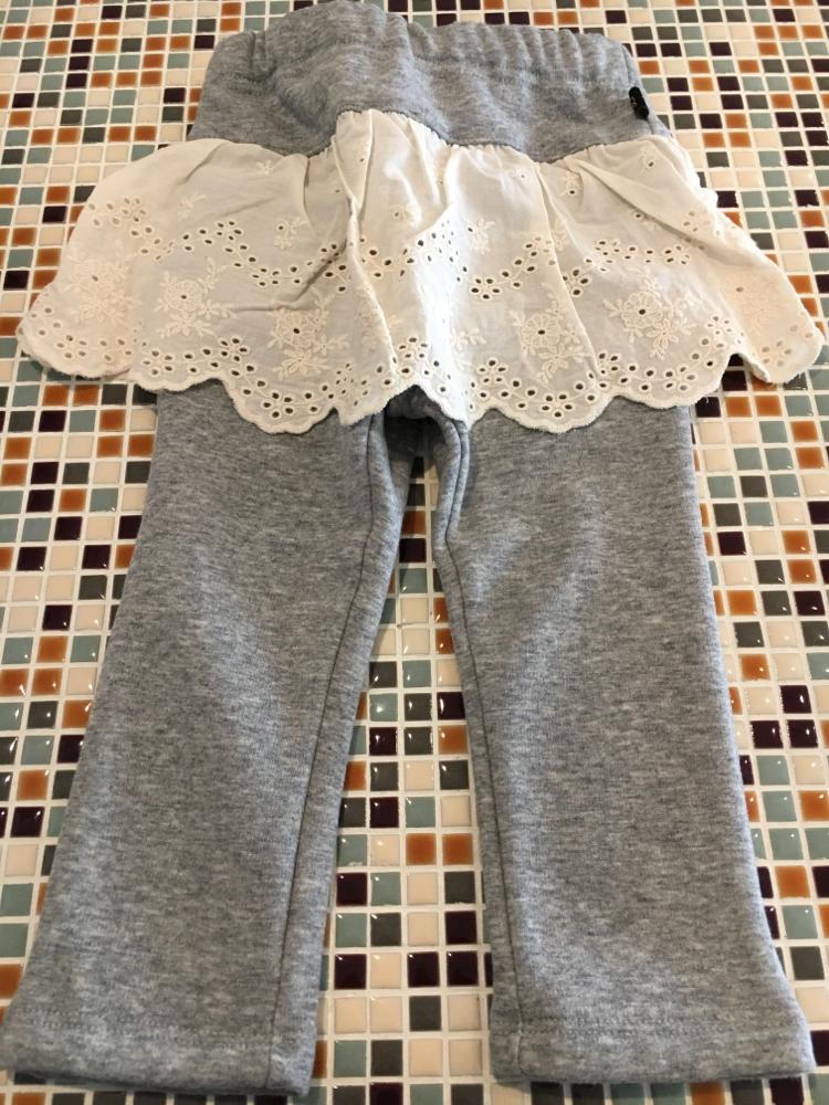 セラフ                    スカート付きパンツ(S520016)         (size 80・90・130㎝)          ¥2.600+税