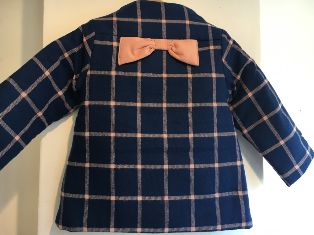 セラフ                    中綿入りジャケット(S501016)         (size 100・120・130・140㎝)      ¥3.900+税