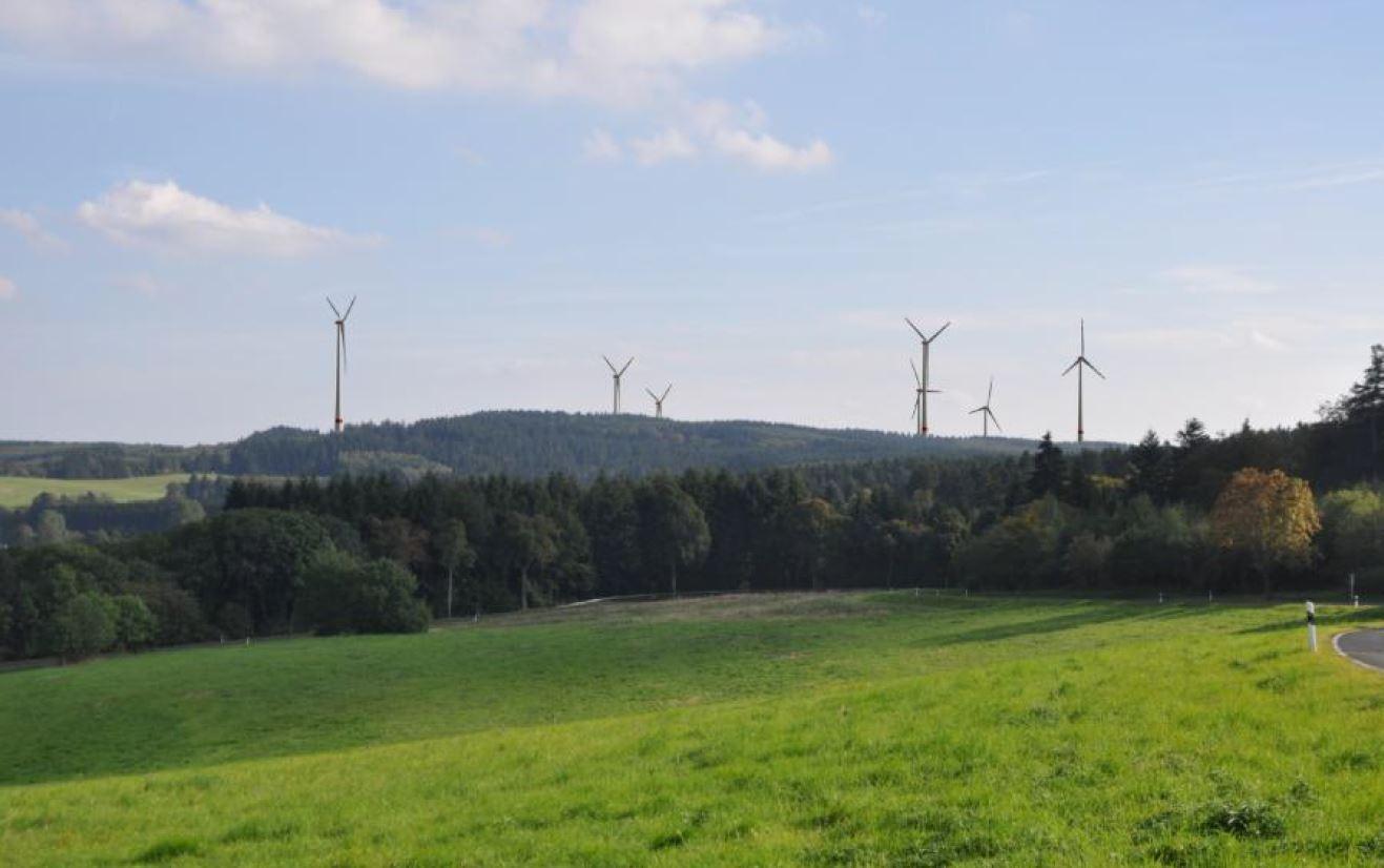 Blick vom Aussichtspunkt Jeckelsberg