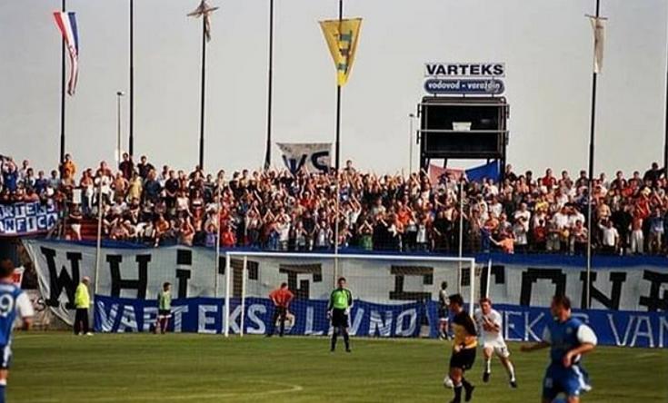 Quelle: Facebook White Stones Varaždin Datum: 2001 Heimspiel gegen Hajduk Split