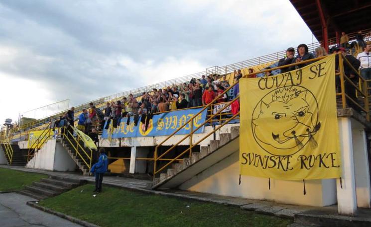 Quelle: Facebook Udruga navijača Divlje Svinje – Datum Saison 2012-2013