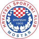 HSK Zrinjski Mostar Wappen Logo