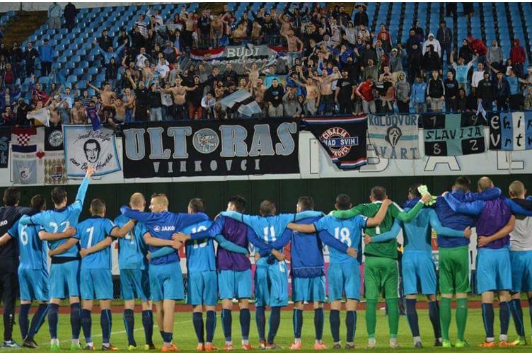 Quelle: Facebook Ultras Vinkovci – Jahr 2017