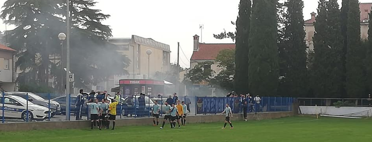 Quelle: Facebook NK Mladost Fažana - Omladinski pogon – Spiel 03. Oktober 2020